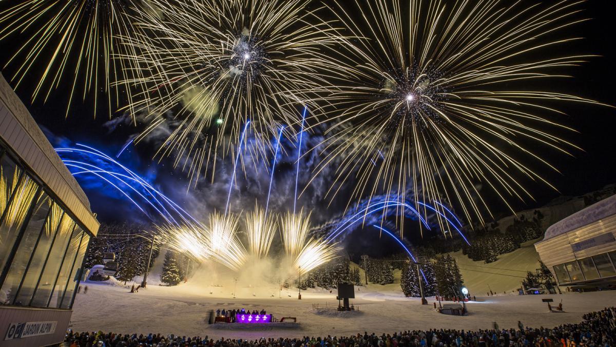 Courchevel Vuurwerkfestival