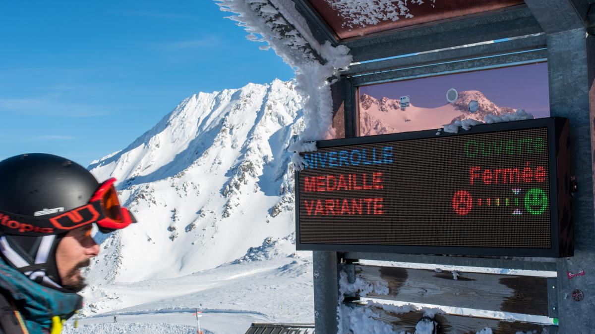 Skiflux in Val Thorens, Frankrijk