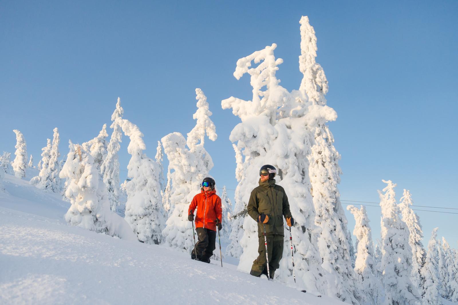 Wintersporten in Noorwegen