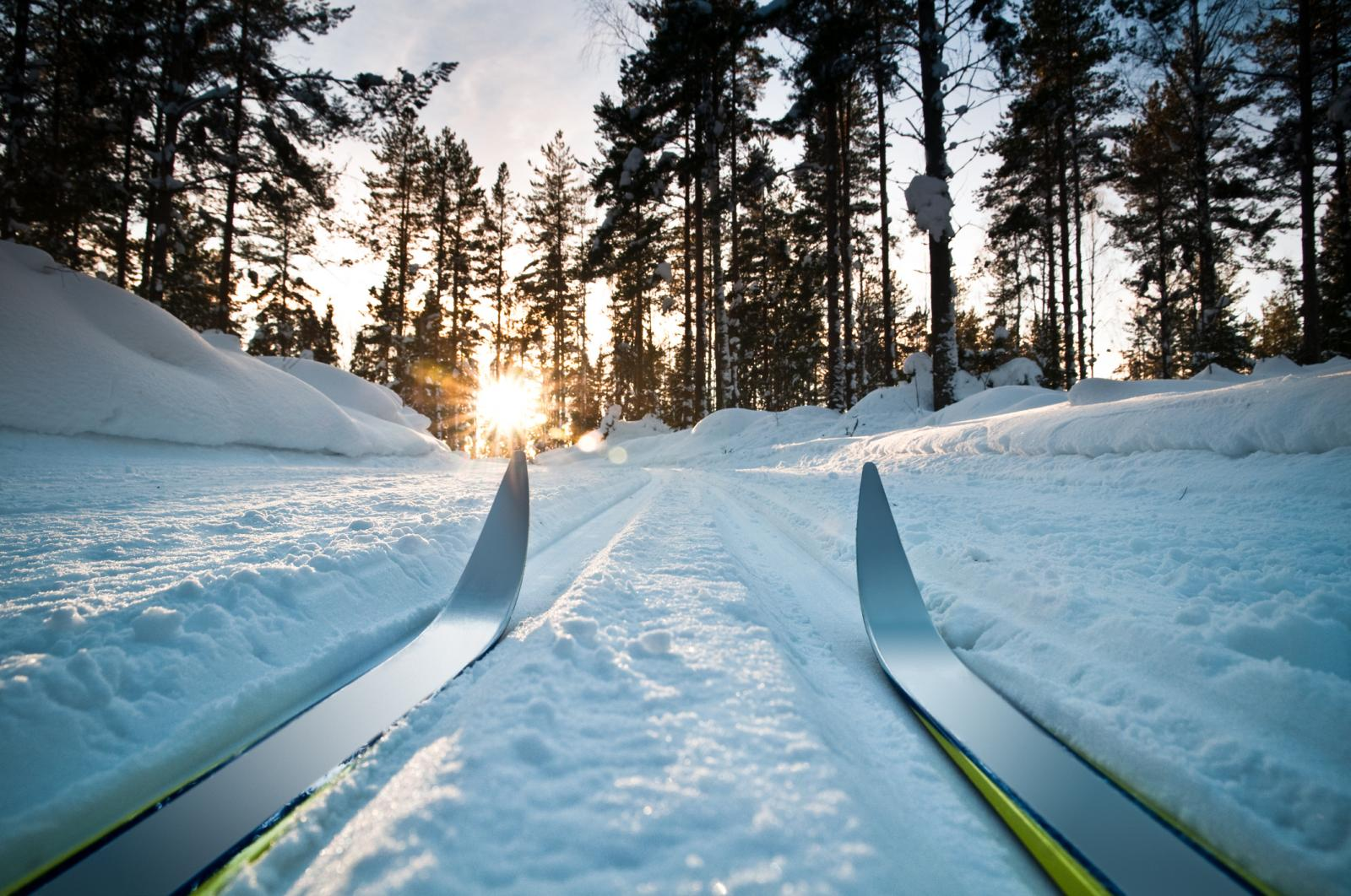 Wintersporten in Zweden