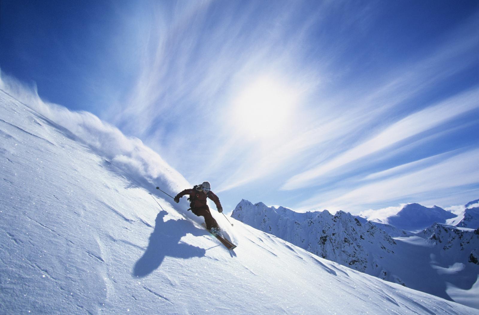 Wintersporten in Amerika