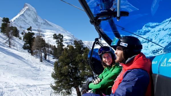 Vooruitzicht wintersportseizoen 2018/19 in Zermatt, Zwitserland