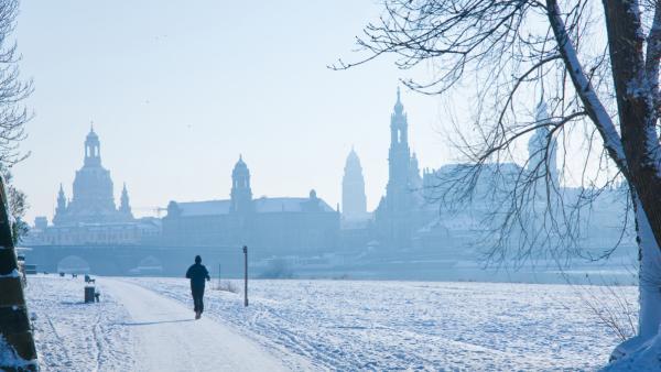 Bijzonder evenement: langlaufen in het centrum van Dresden!