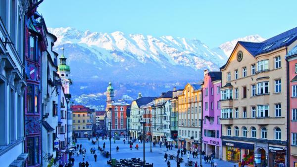 Innsbruck steeds populairder als winterse vliegbestemming